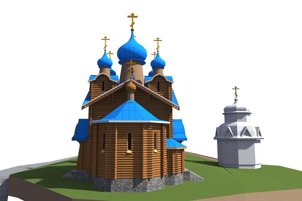 Храм в Ровенской обл.
