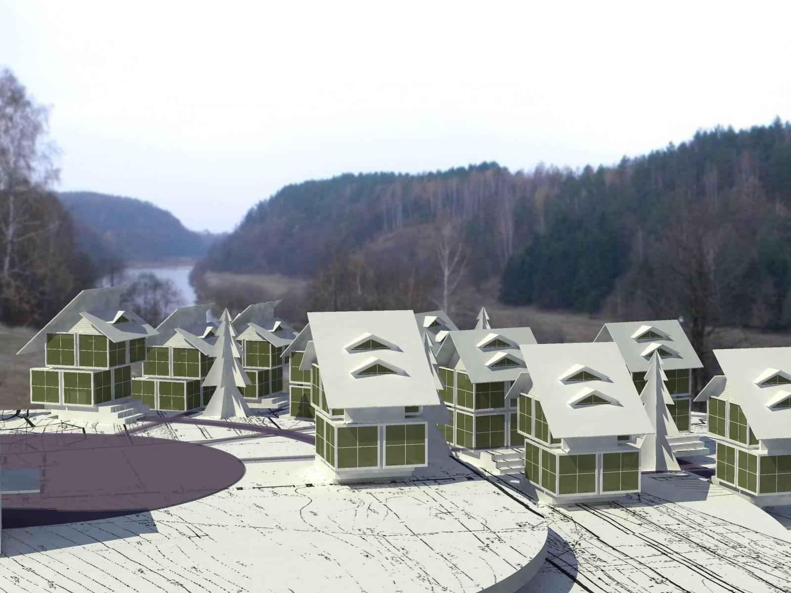 Турбаза на территории ландшафтного парка в Ровенской обл.