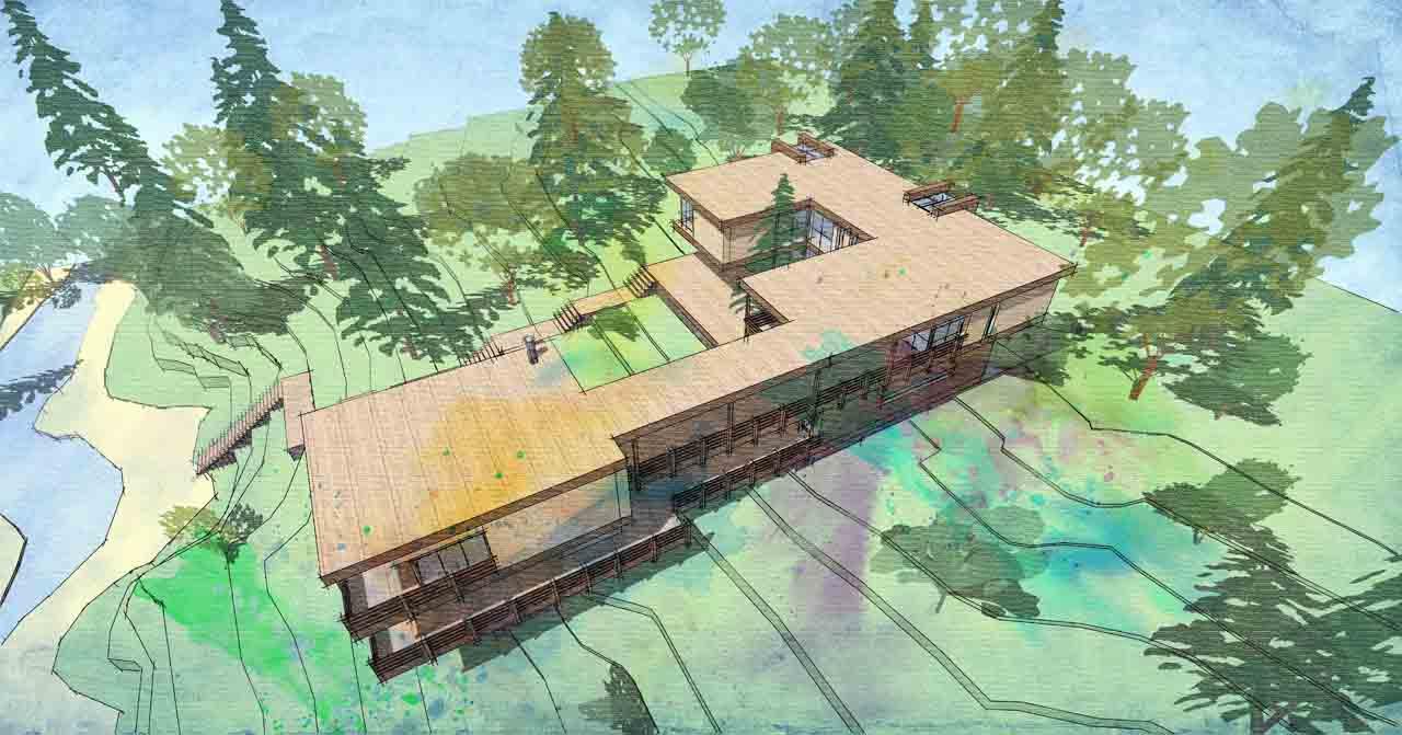 Проектное предложение Вилла Marazzа Римини  Италия