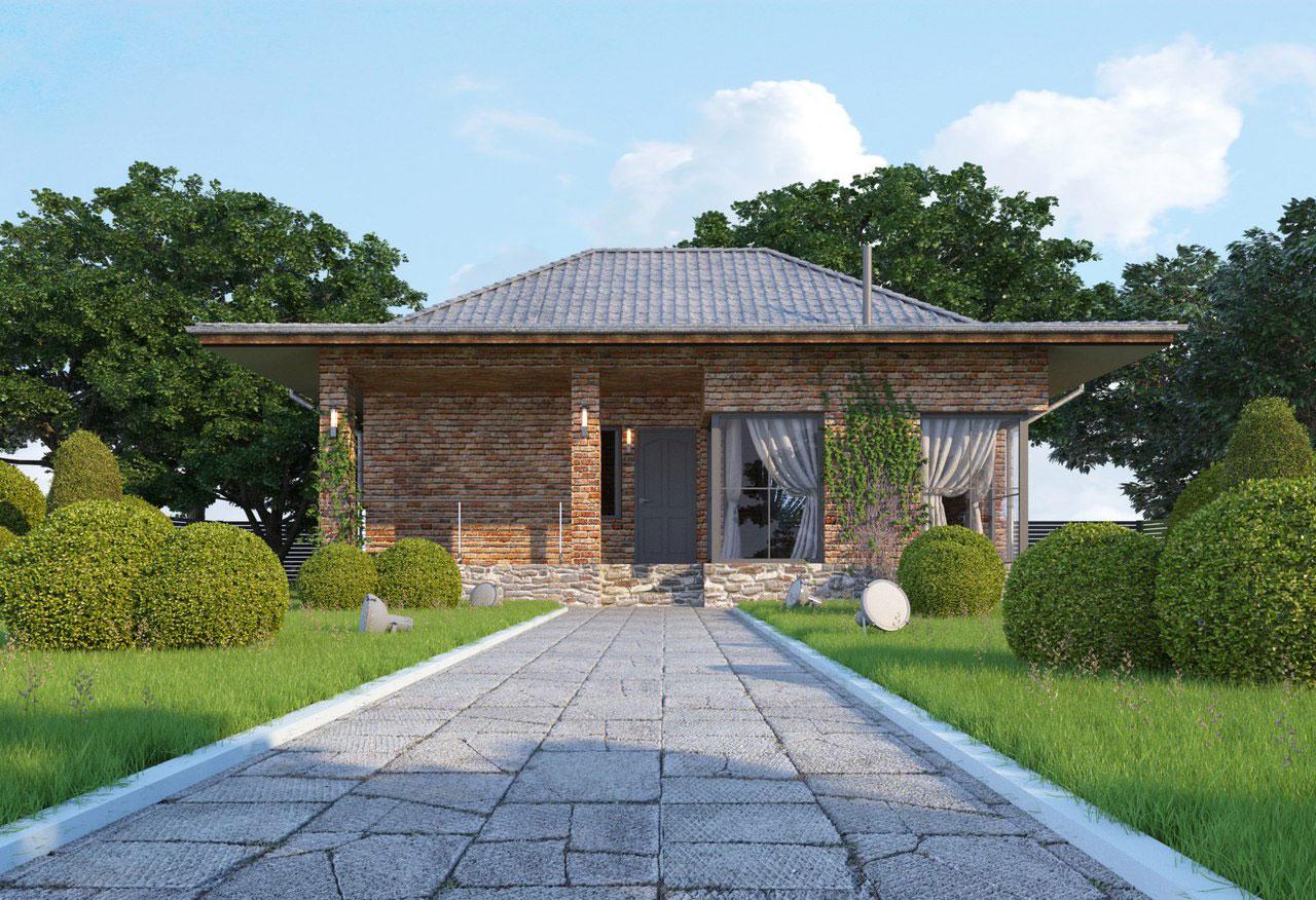 Проект гостевого дома в Киевской области