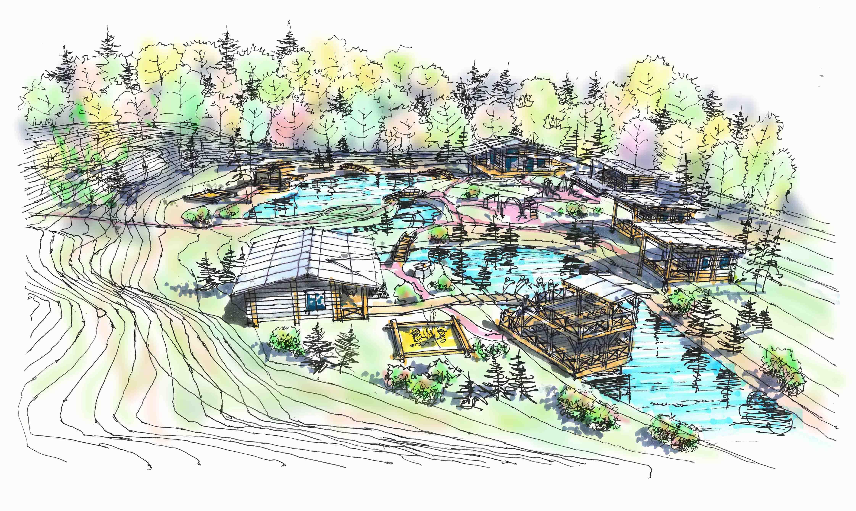 Архитектурно-ландшафтная концепция частного участка г.Обнинск