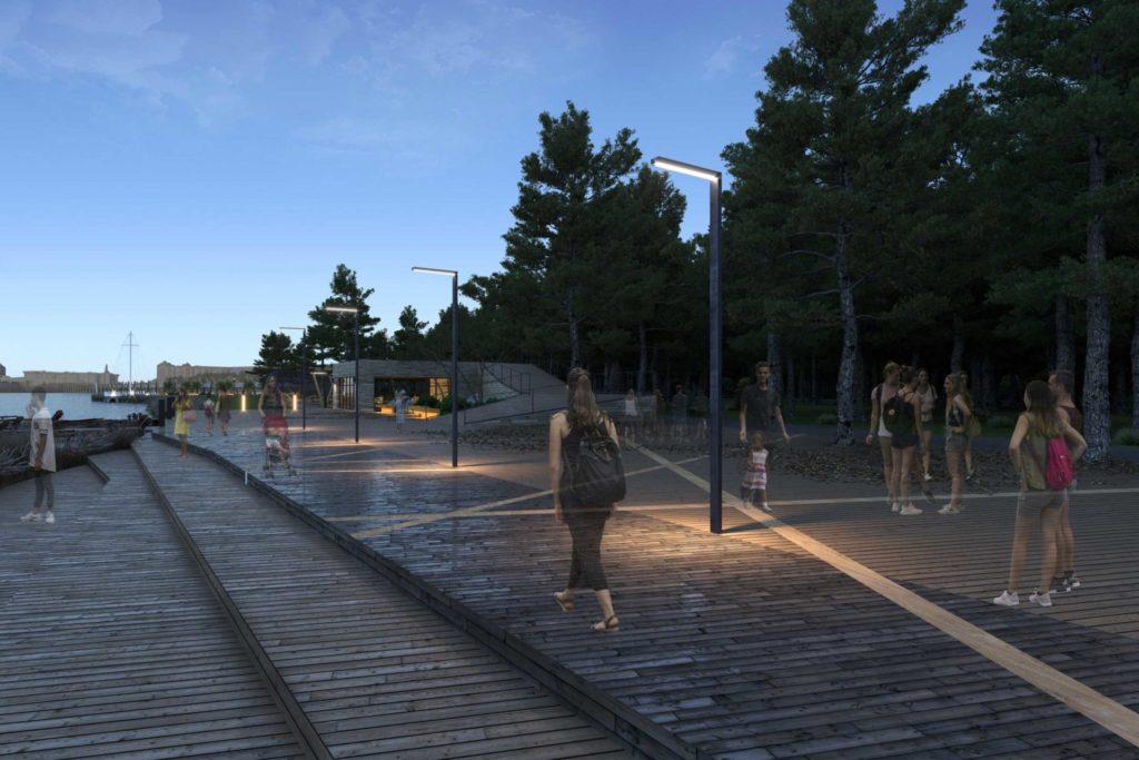 Дизайн эко-парка в Сургуте