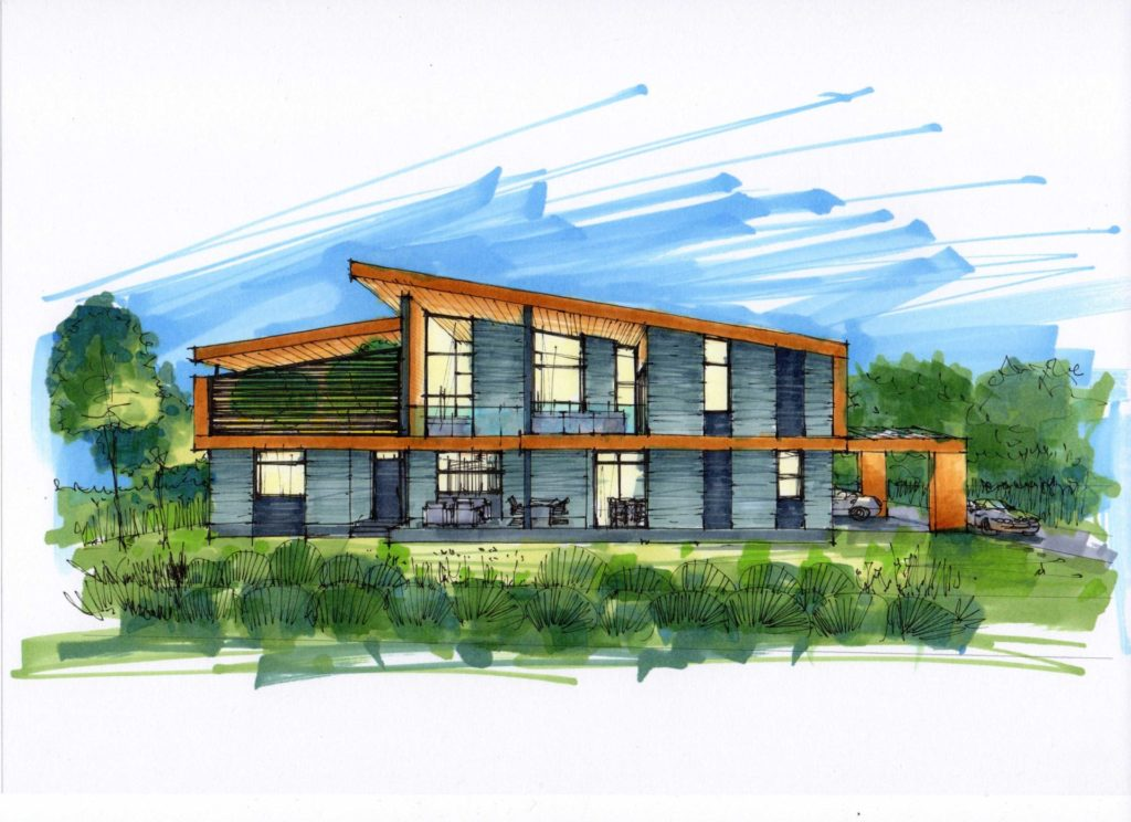 Проект дачного дома в МО