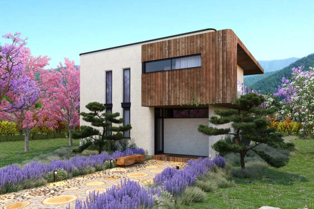 Проект эко-дома 200м2 в Сочи
